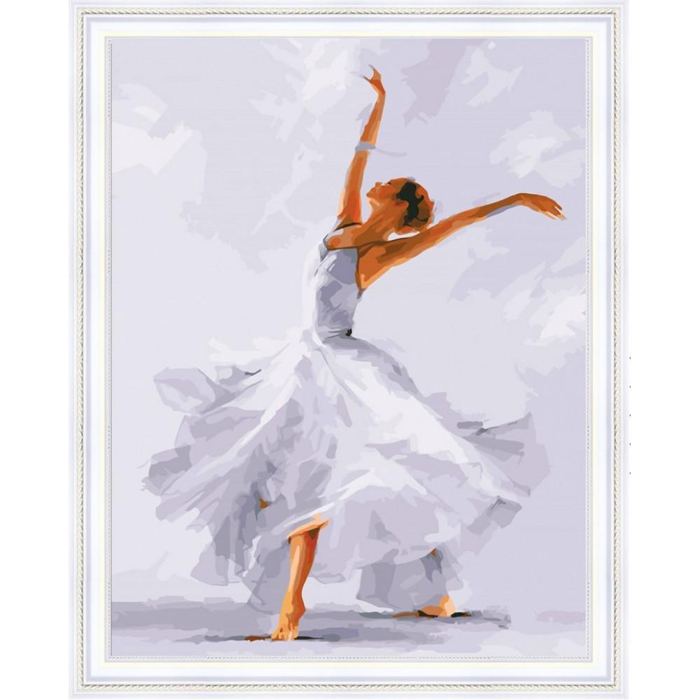 Красивый танец женщины алмазная мозаика 40х50