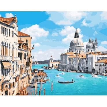 Венецианская лазурь картина по номерам 40х50