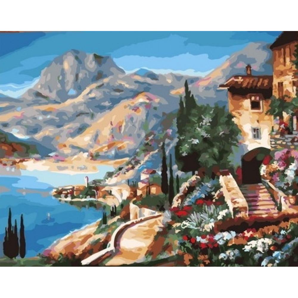 Пейзаж картина по номерам 40х50