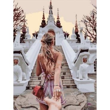 Следуй за мной, Тайланд картина по номерам 40х50